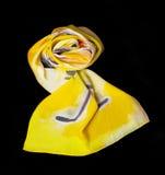 цветастый шелк шарфа Стоковое Фото