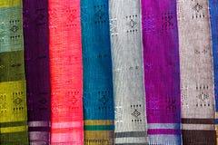 Цветастый шелк Стоковое фото RF