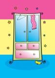 цветастый шкаф Стоковая Фотография RF