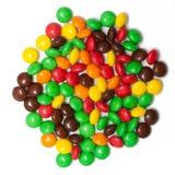 Цветастый шоколад - покрынная конфета Стоковое Изображение RF