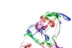 цветастый дым Стоковая Фотография RF
