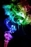 цветастый дым Стоковое Изображение