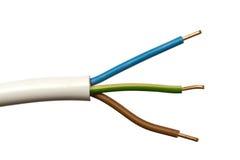 цветастый электрический провод Стоковые Изображения