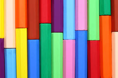 цветастый crayon Стоковое Фото