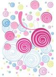 цветастый doodle флористический Стоковая Фотография