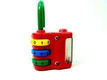 цветастый padlock комбинации Стоковые Изображения RF