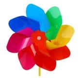 цветастый pinwheel стоковые фотографии rf
