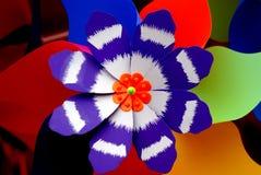 цветастый pinwheel Стоковые Изображения