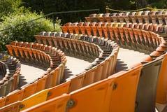 Цветастый seating ampitheater Стоковое Изображение RF