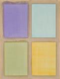 цветастый sketchpad Стоковые Фото