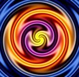 цветастый twirl Стоковое Изображение