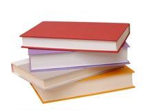 4 цветастых книги Стоковое Изображение RF