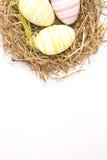 3 цветастых пасхального яйца Стоковое Фото