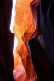 Цвета более низкого каньона антилопы Стоковое Изображение RF
