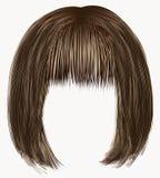 Цвета волос коричневые край kare иллюстрация вектора
