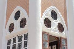 Цвета двери искусства старая красивого классическая Стоковые Изображения
