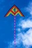 Цвета змея в голубом небе Стоковая Фотография RF