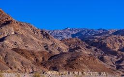Цвета каньона мозаики на национальном парке Death Valley Стоковая Фотография