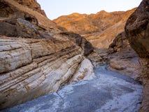 Цвета каньона мозаики на национальном парке Death Valley Стоковое Изображение