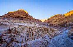 Цвета каньона мозаики на национальном парке Death Valley Стоковые Изображения RF