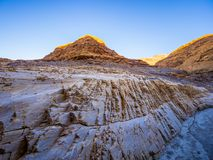 Цвета каньона мозаики на национальном парке Death Valley Стоковая Фотография RF