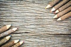 Цвета карандаша Стоковая Фотография
