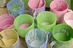 Цвета масла для краски Стоковое Изображение RF