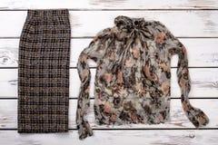 цвета Много блузка и брюки стоковые изображения rf