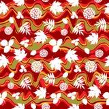 Цвета осени и силуэты листьев Стоковое Изображение RF