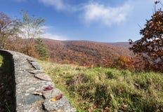 Цвета падения показа горного вида Стоковые Фото