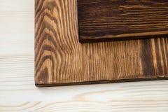 3 цвета древесины Стоковые Изображения RF