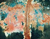 Цвета ржавчины: Абстрактная поверхность Стоковые Изображения RF