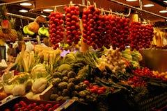 Цвета рынка, Испании Стоковая Фотография