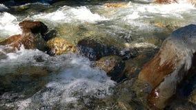 Цвета banff долины смычка речных порогов осени Стоковые Изображения RF