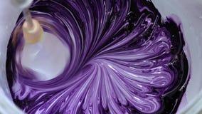 Цвета Blender смешивая краски для ремонта сток-видео