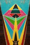 Цвета Thais традиционной покрашенные шлюпкой Стоковое фото RF