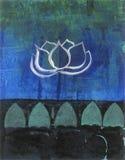 Цветение лотоса бесплатная иллюстрация