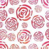 Цветет безшовная картина Стоковая Фотография RF