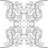 цветет безшовная плитка Стоковое Фото