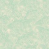 цветет безшовная текстура Бесконечная флористическая картина иллюстрация штока