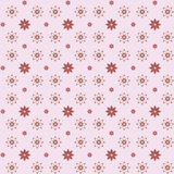 цветет безшовная текстура Стоковое Изображение