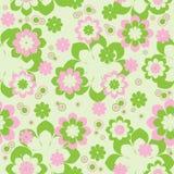 цветет безшовное Стоковое Изображение