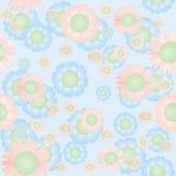 цветет безшовное Стоковое Фото