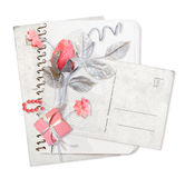 цветет бумажный стог Стоковое Фото