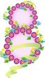 цветет весна 1-ое марта бесплатная иллюстрация