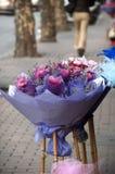 цветет дорога стоковое фото