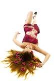 цветет женщина волос сексуальная Стоковая Фотография RF