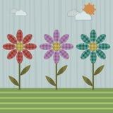 цветет заплатка Стоковые Фотографии RF