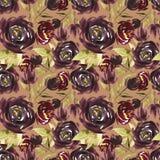 Цветет иллюстрация акварели картина безшовная Будьте матерью дня ` s, свадьбы, дня рождения, пасхи, дня ` s валентинки пастельно иллюстрация штока