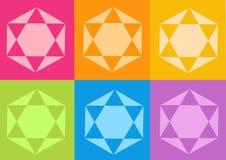 цветет йога yantras Стоковая Фотография RF